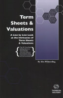 Term Sheets   Valuations
