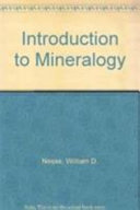 Introduction to Mineralogy  Second International Edition PDF