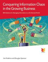 Conquering Information Chaos in the Growing Business PDF