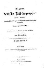 Magyarországi német könyvészet