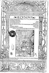 Secundus operum venerabilis Bedae presbyteri tomus, in quo subsequentes continentur eiusdem commentarii. In Euangelium Marci lib. 4. Folio.1. In Euangelium Lucae lib.6. Folio.51. In Acta Apostolorum lib.1. Folio.147. Expositio nominum locorum in Actis contentorum, siue eiusdem, siue alterius auctoris. Folio.163. In Epistolas Catholicas. Folio.165. In Apocalypsim B. Ioannis Apostoli. Folio.200. Praemisso verborum sententiarumque insignium indice literario