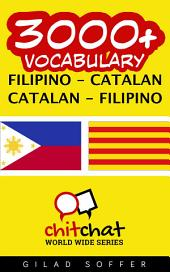 3000+ Filipino - Catalan Catalan - Filipino Vocabulary