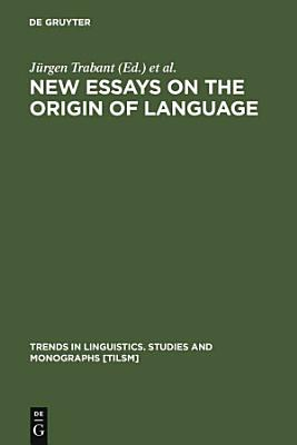 New Essays on the Origin of Language PDF