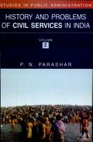 History and Problems of Civil Services in India PDF