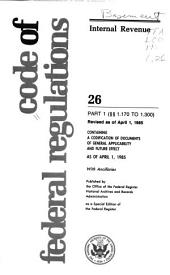 The Code of Federal Regulations of the United States of America