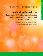 Anchoring Growth: The Importance of Productivity-Enhancing Reforms in Emerging Market and Developing Economies