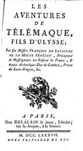 Les aventures de Télémaque,: fils d'Ulysse ;