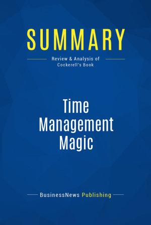 Summary  Time Management Magic PDF