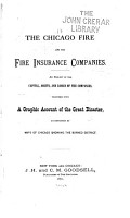 The Chicago Fire and the Fire Insurance Companies PDF