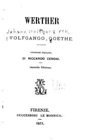 Werther di Volfango Goethe