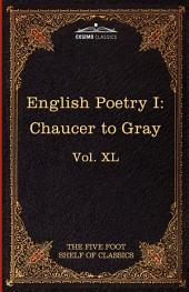English Poetry: Chaucer to Gray