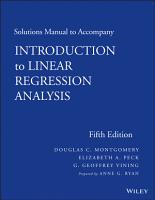 Solutions Manual to accompany Introduction to Linear Regression Analysis PDF