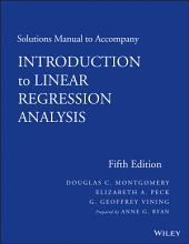 Solutions Manual to accompany Introduction to Linear Regression Analysis: Edition 5