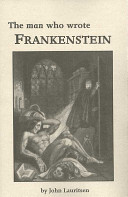Download The Man who Wrote Frankenstein Book
