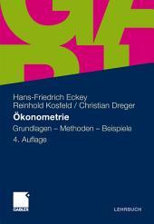 Ökonometrie: Grundlagen - Methoden - Beispiele, Ausgabe 4
