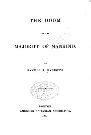 The Doom of the Majority of Mankind PDF
