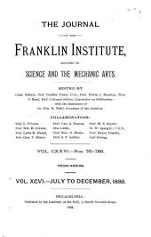 Journal of the Franklin Institute: Volume 96; Volume 126