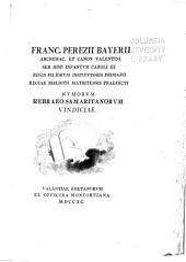 Franc. Perezii Bayerii ... Nvmorvm hebraeo-samaritanorvm vindiciae