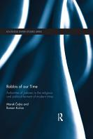 Rabbis of our Time PDF