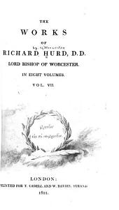 The Works of Richard Hurd, Lord Bishop of Worcester: Theological works