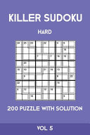Killer Sudoku Hard 200 Puzzle With Solution Vol 5