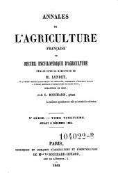 Annales de l'agriculture francoise. Red. par ... Tessier: Volume5;Volume20