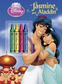 Jasmine and Aladdin Chunky Crayon Book Color Plus Chunky Crayons
