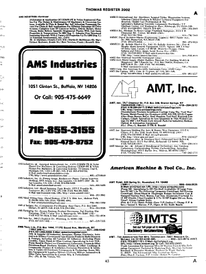 Thomas Register of American Manufacturers and Thomas Register Catalog File PDF