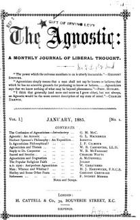 The Agnostic Book