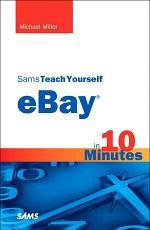 Sams Teach Yourself eBay in 10 Minutes PDF