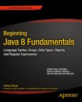 Beginning Java 8 Fundamentals PDF