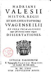 Dissertationes de Cena Trimulcionis nuper sub Petronii nomine vulgata