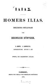 Ilias: Band 1,Ausgabe 1