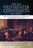 The 1647 Westminster Confession of Faith   KJV PDF