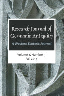 Research Journal of Germanic Antiquity