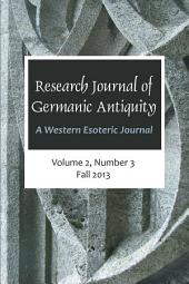 Research Journal of Germanic Antiquity: A Western Esoteric Journal Vol.2, Issue 3