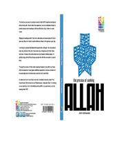 PROCESS OF SEEKING GOD ?: The Journey to Seek Allah SWT, PROCESS OF SEEKING GOD ?