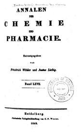 Justus Liebig's Annalen der Chemie: Bände 67-68