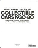 New Complete Book of Collectible Cars 1930-80