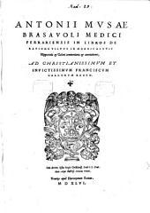 In libros de ratione victus in morbis acutis Hippocratis et Galeni commentaria et annotationes