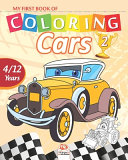 My First Book of Coloring - Cars 2