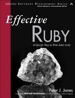 Effective Ruby PDF