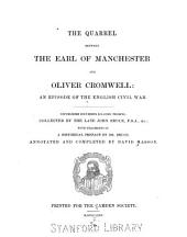 The Quarrel Between the Earl of Manchester and Oliver Cromwell: An Episode of the English Civil War, Volume 12