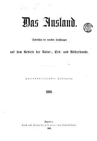 Das    Ausland PDF