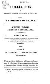 Collection des meilleurs dissertations, notices et traités particuliers relatifs à l'histoire de France: composée en grande partie de pièces rares, du qui n'ont jamais été publiées séparément, Volume16