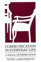 Communication in Everyday Life PDF