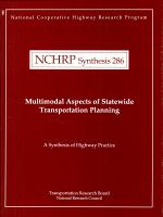 Multimodal Aspects of Statewide Transportation Planning PDF