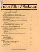Journal of Public Policy & Marketing : JPP&M