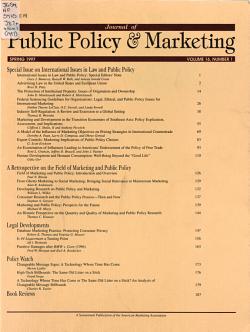 Journal of Public Policy   Marketing   JPP M PDF