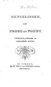 Mengelingen in proze en poëzy